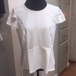 NWT Darlings Little Blouse from Ann Taylor White